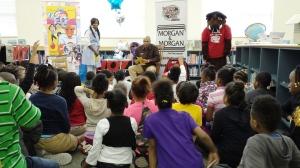 Ms. Cochran (Communities in Schools), Reec & Ice The Bully