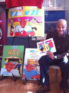 """Reec(Hot 107.9) Reads """"Ice Gets Fit"""" To The Children"""