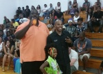 Reec  and Quinton Aaron The Blind Side) ATL Celeb Fest Celebrity Game