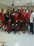 Hotshots & Celebs before they take the court