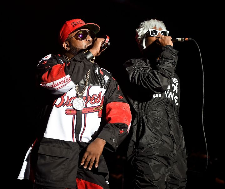 Big Boi and Andre 3000 of Outkast