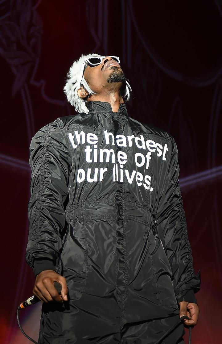 Rapper Andre 3000 of Outkast