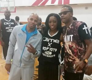 Reec, Steve Franchise Francis, Ms Basketball Atl Storm at PayDay2014