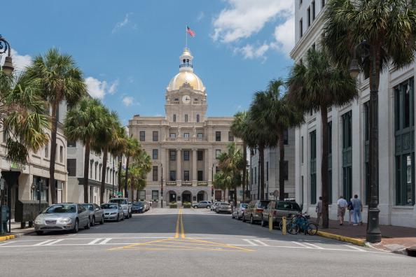 Savannah City Hall Building