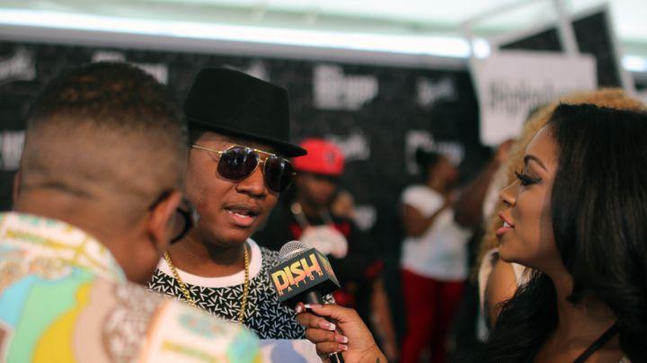 Young Joc at the Hip Hop Awards