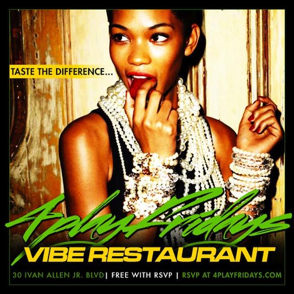 Vibe restaurant flyer