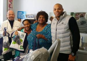 REEC & PAYUSA Deliver Turkeys to Dr. Walter Youngs Dental Office