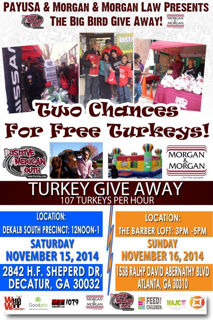 turkey give away