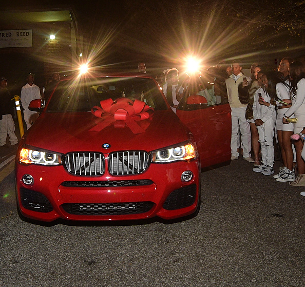 @Colormenae Gets A BMW And Ferrari For Her 16th Birthday