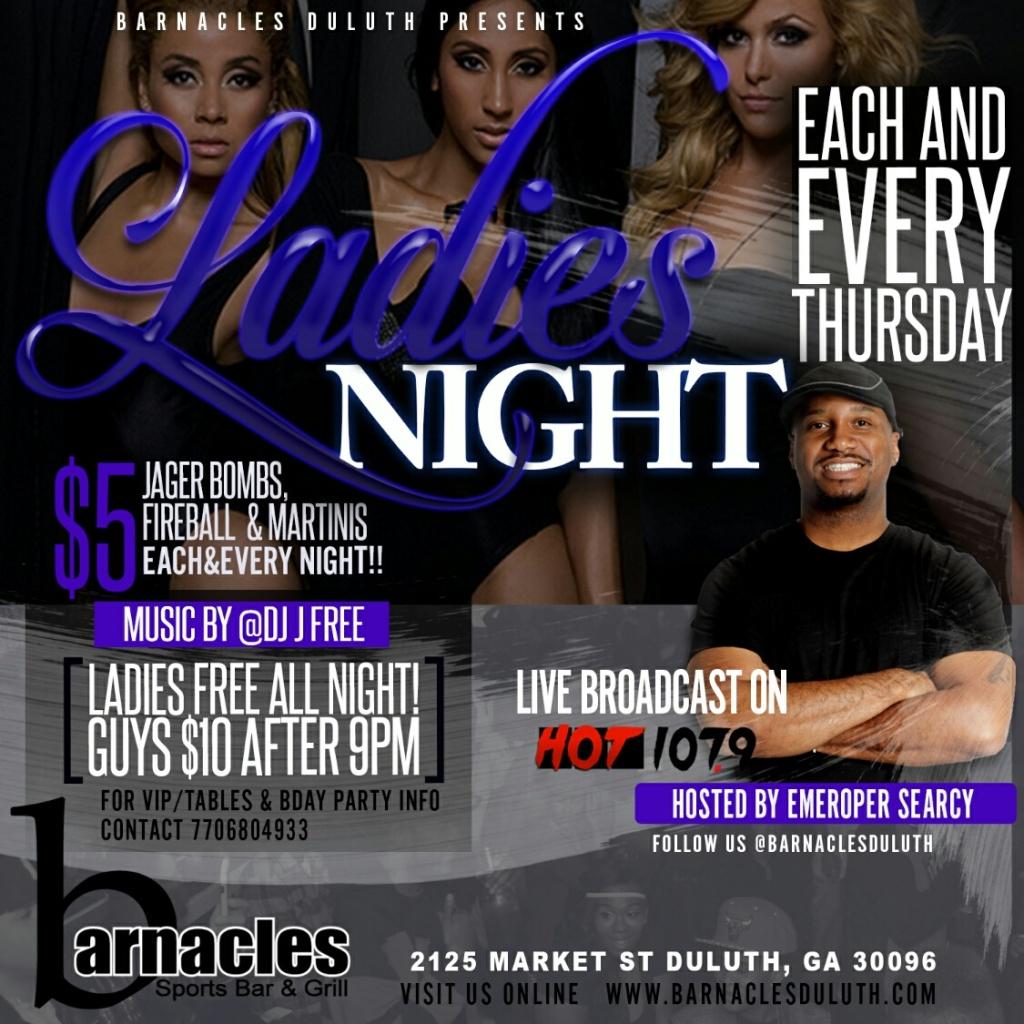 Barnacles Thursdays