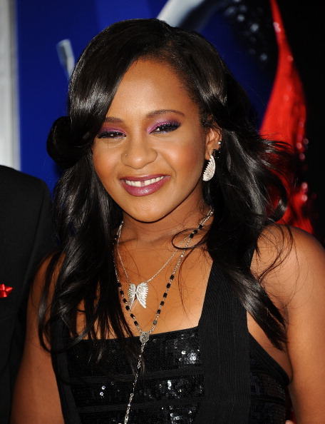 Bobbi Kristina Brown attends the premiere of 'Sparkle' at Grauman's Chinese Theatre on August 16, 2012 in Hollywood, California. (Photo by Jason LaVeris/FilmMagic)
