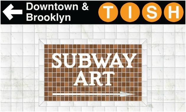 Artwork Tish Subway Art Single