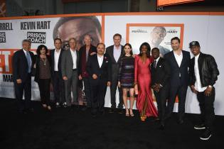 Get Hard movie premiere