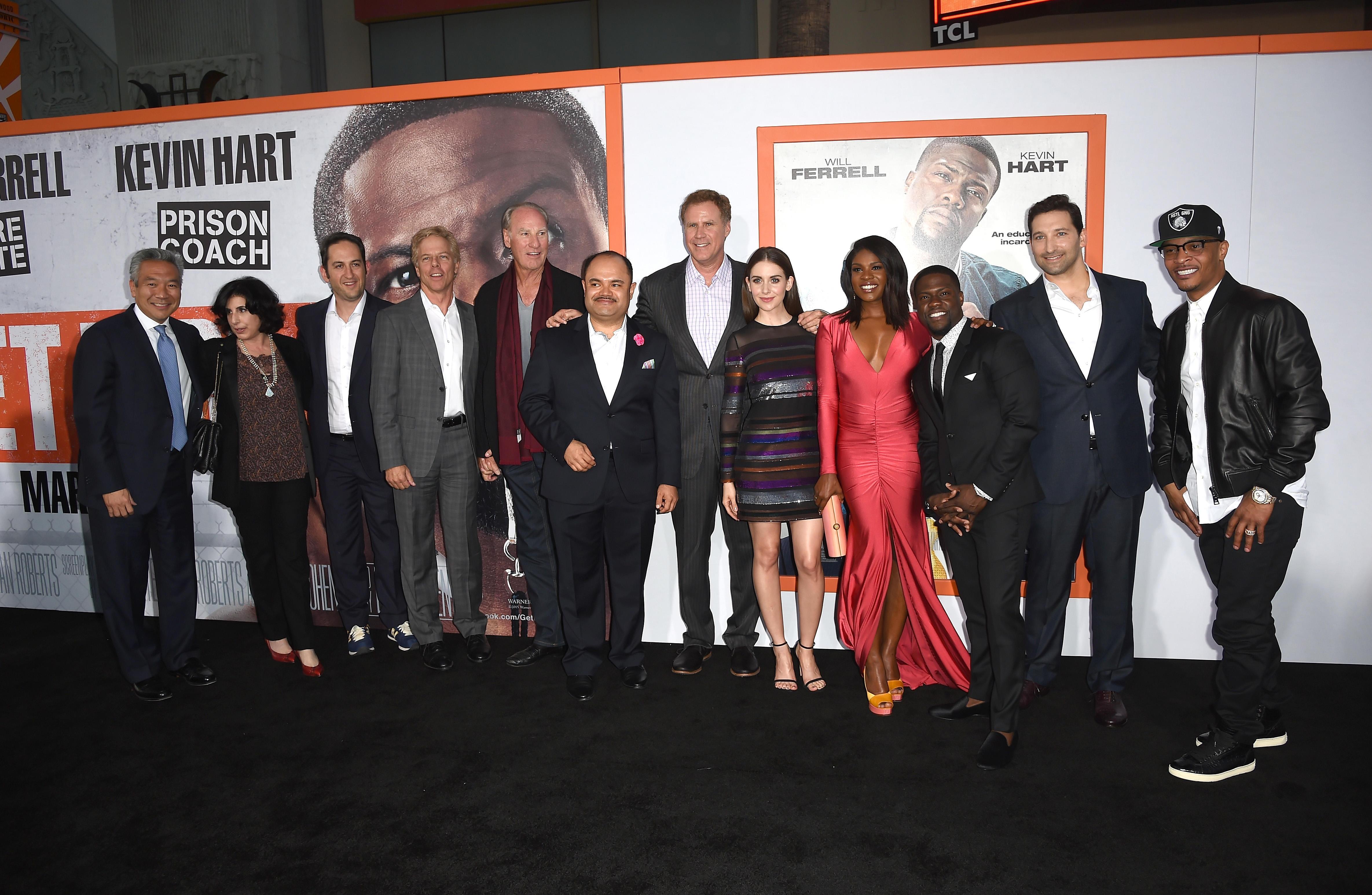 Get Hard movie premiere