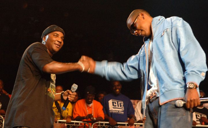 Young Jeezy and Jay Z at Birthday Bash 11