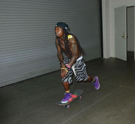 Lil Wayne Hot 107.9's Birthday Bash 17
