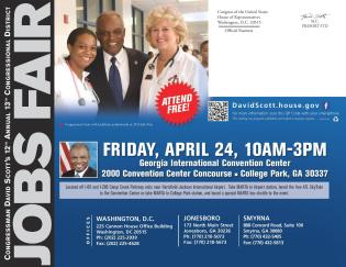 Congressman David Scott job fair