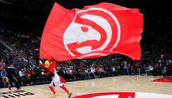 Atlanta Hawks mascot