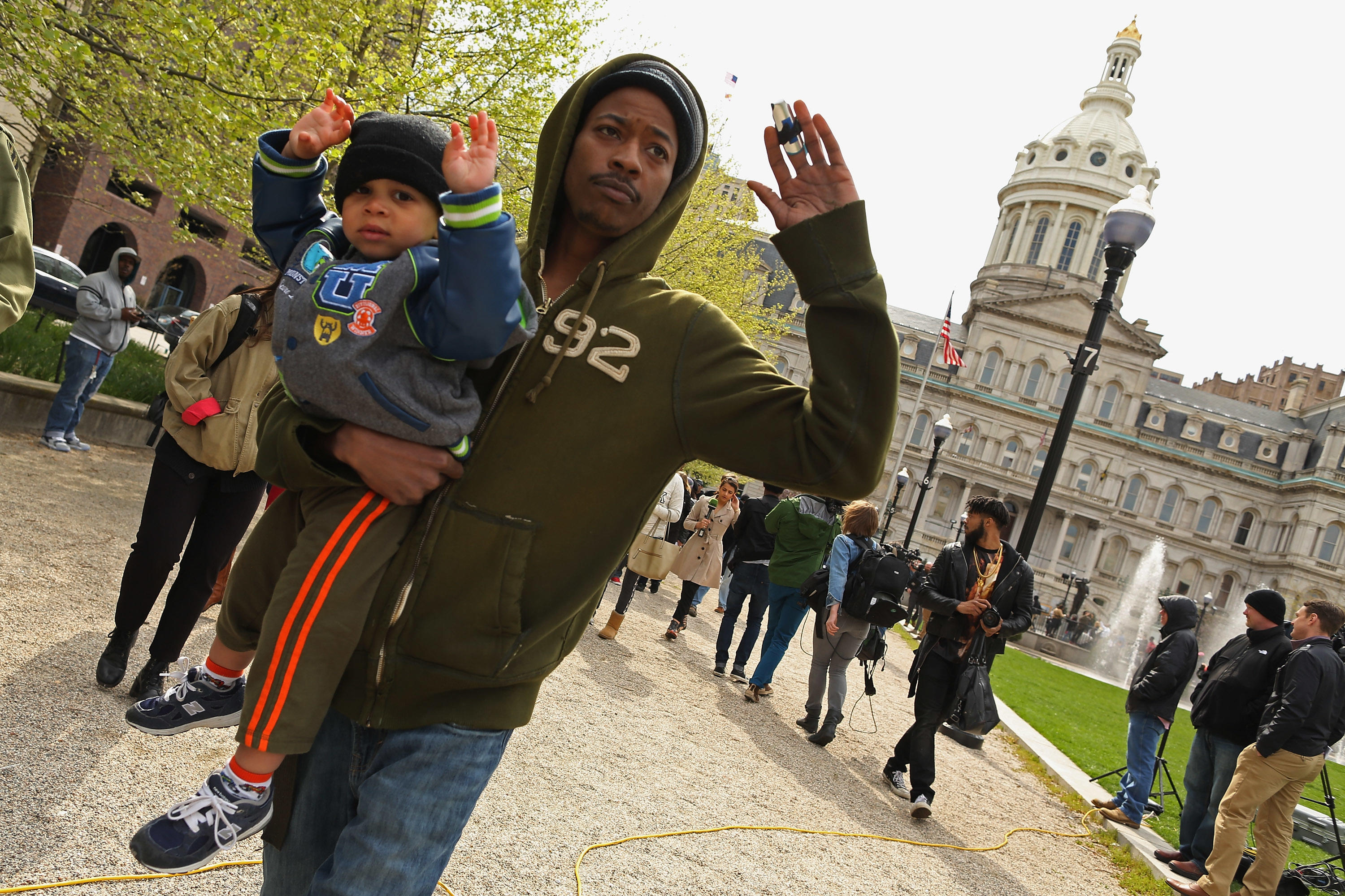 Baltimore Protests over death of Freddie Gray