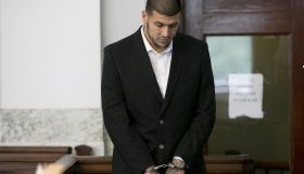 Aaron Hernandez At Attleboro District Court