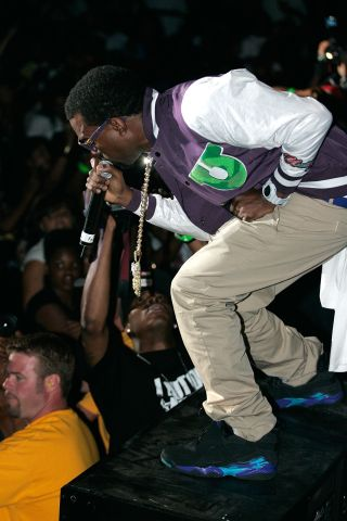 Kanye West at Birthday Bash