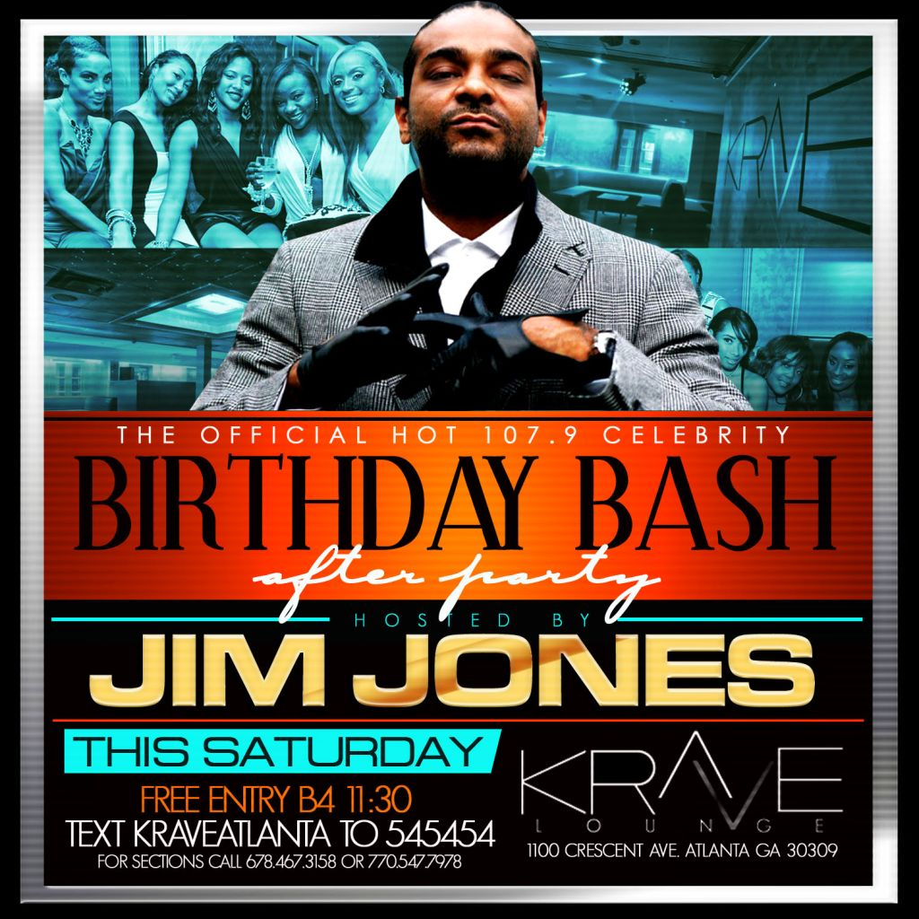 Birthday Bash after party flyers
