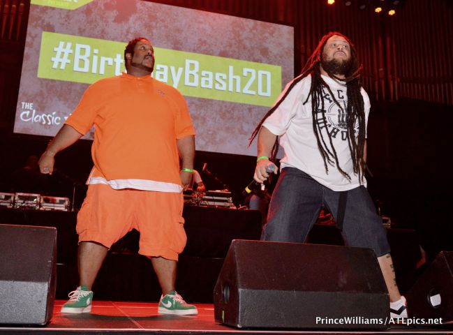 Hot 107.9 #BirthdayBash20 Classic Throwback Concert