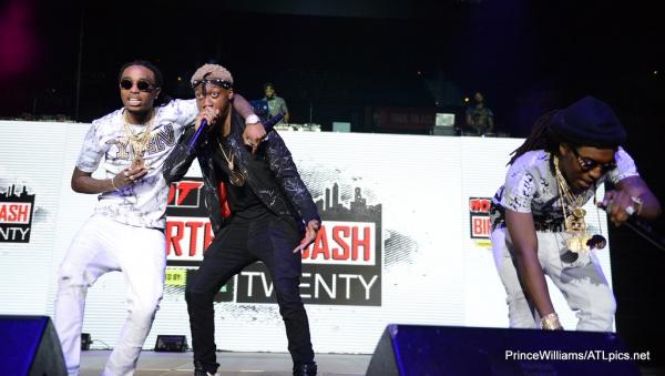 Watch Migos Rip #BirthdayBash20 With This Dope Performance