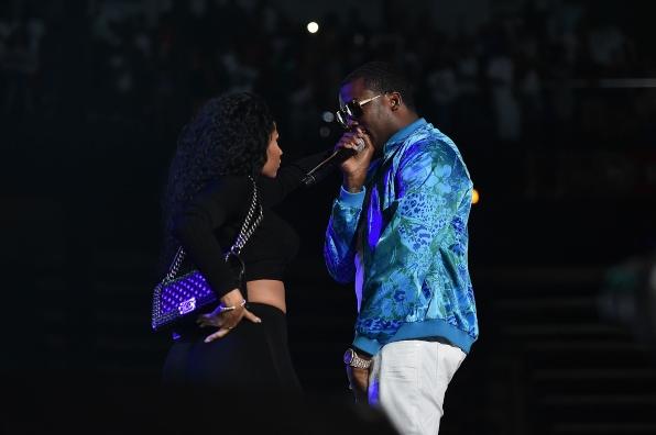 Nicki Minaj & Meek Mill Get Close at #BirthdayBash20