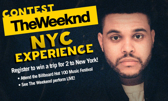 The Weeknd NYC EXPERIENCE DL