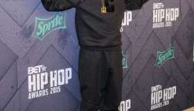 Snoop Dogg at the 2015 BET Hip-Hop Awards