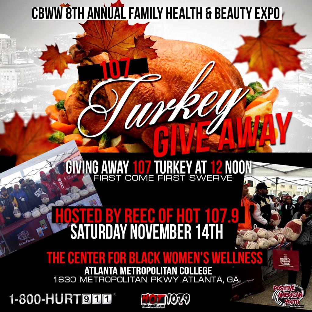 Saturdays Turkey Distribution