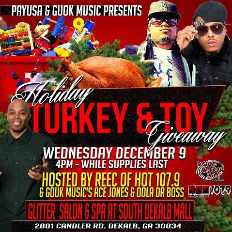 turkey toy give away