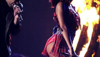 Drake and Rihanna perform at 53rd Annual Grammy Awards