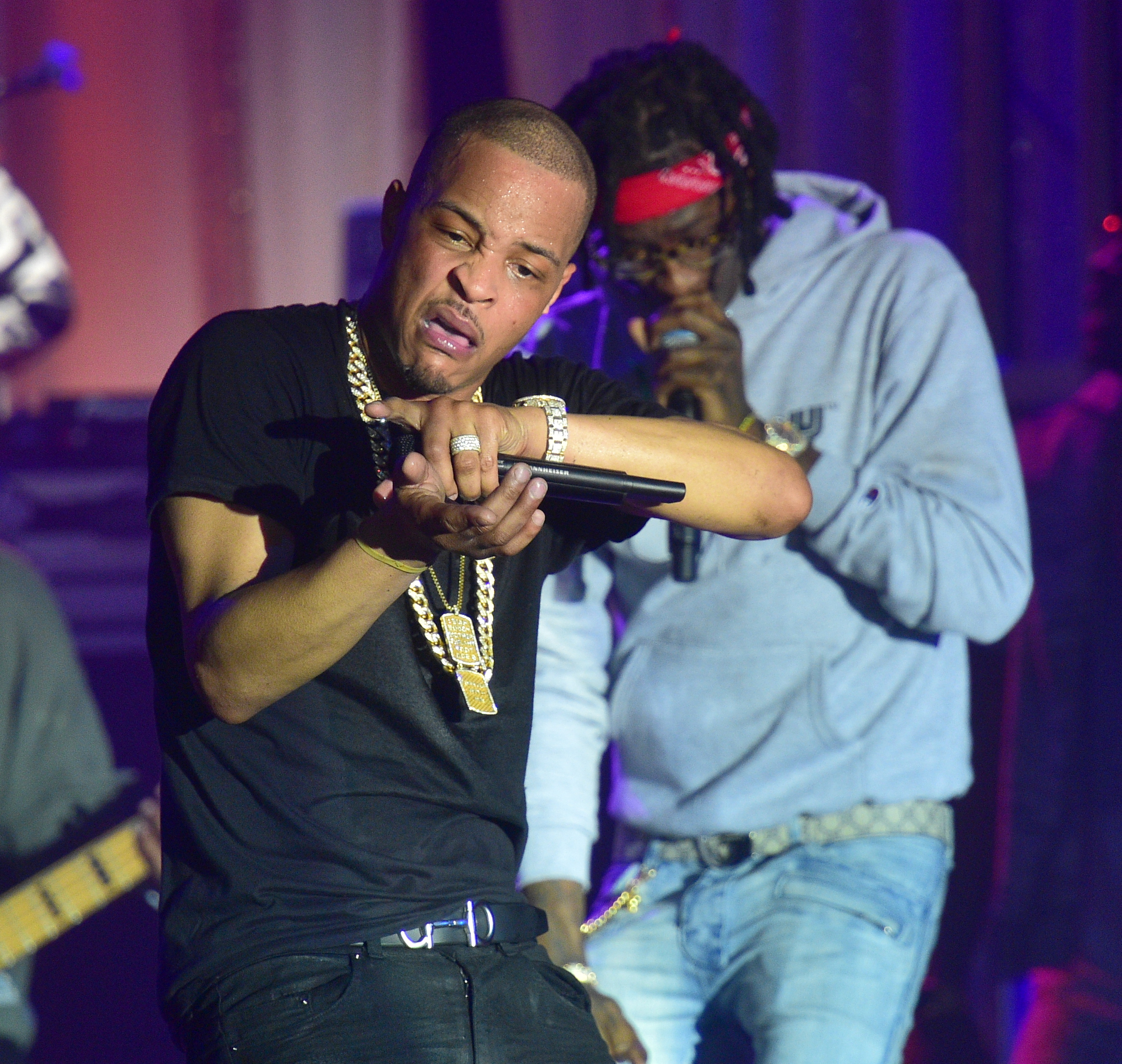 Ti x TIDAL Pop Up Concert