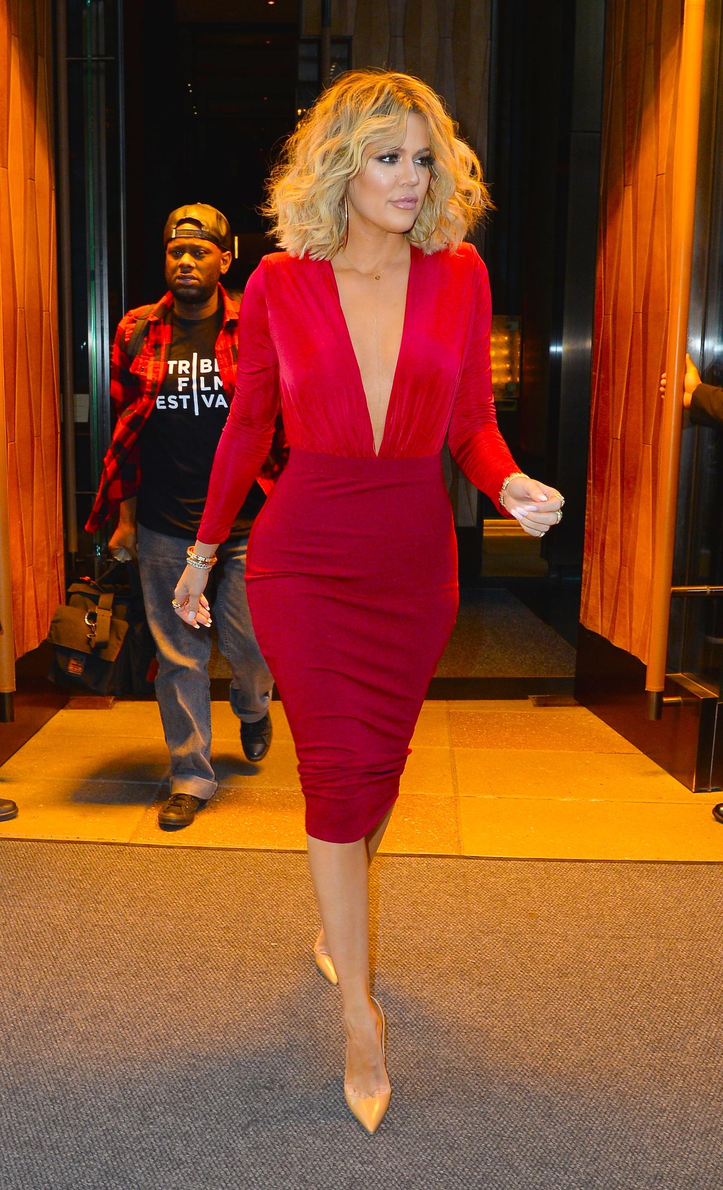 Celebrity Sightings in New York City - January 15, 2016