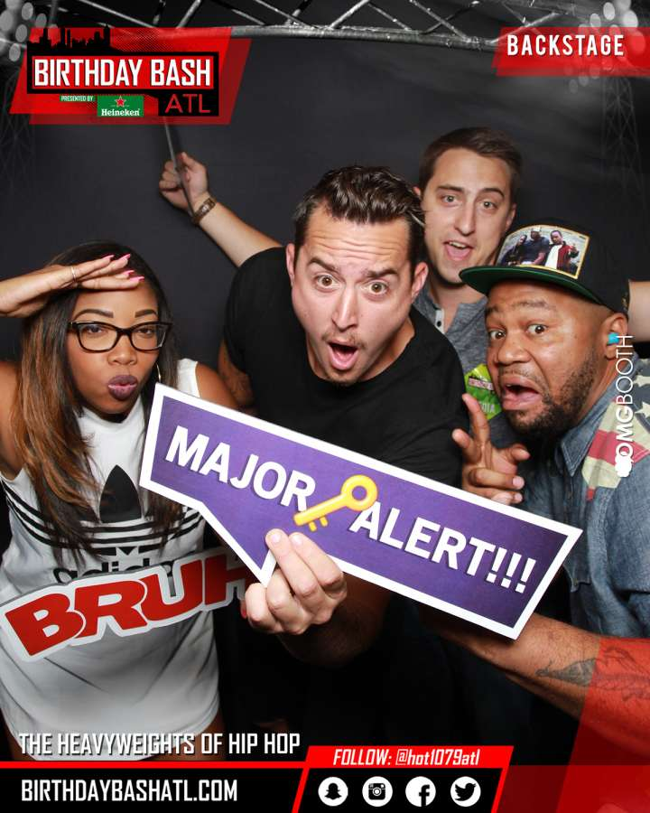 Birthday Bash Staff Photo Booth