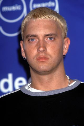 Eminem. Backstage - 1999 MTV Video Music Awards in NYC September 1999