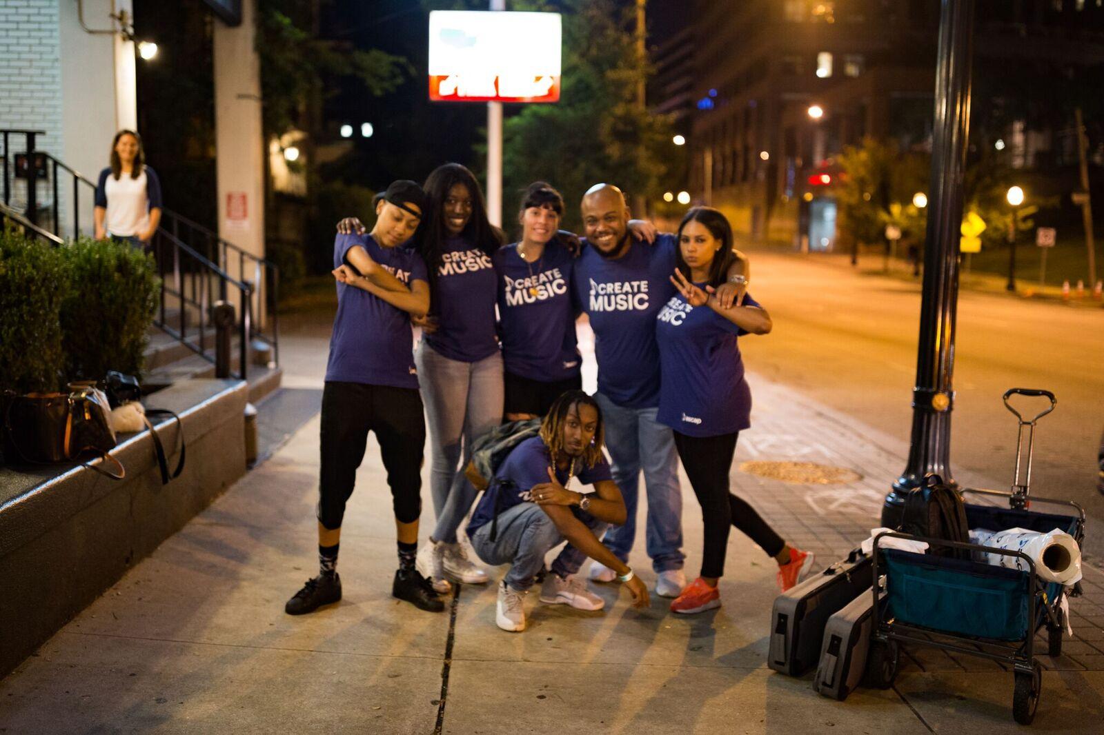 ASCAP Team Shot