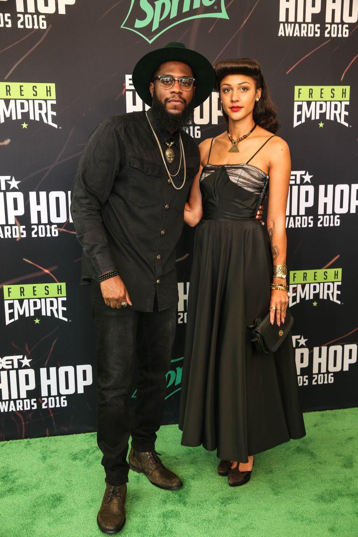 Rapper Big K.R.I.T and singer Mara Hruby