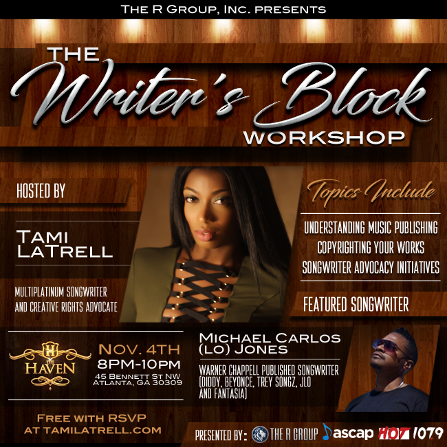 Tami LaTrell Songwriting Workshop