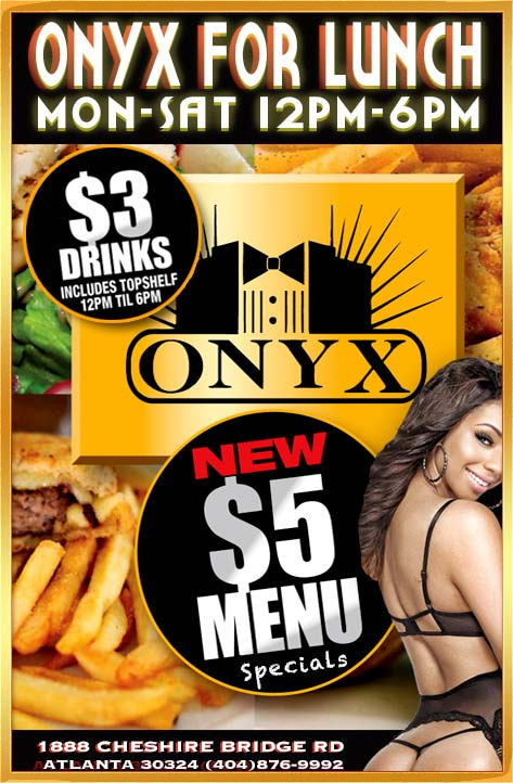 Onyx For Lunch - Club Onyx