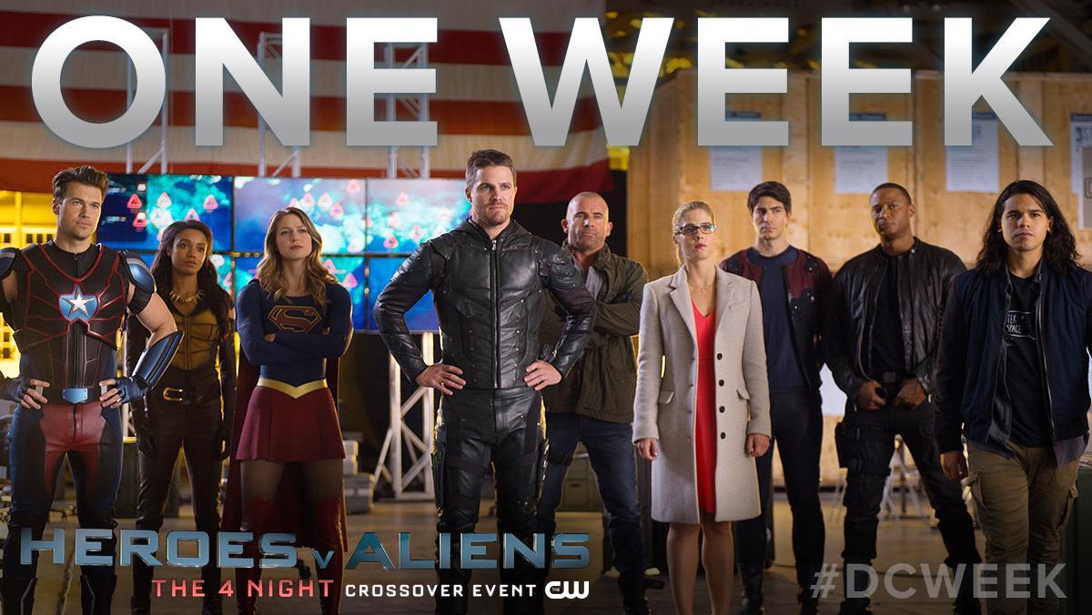 CW SUPERHERO CROSSOVER WEEK