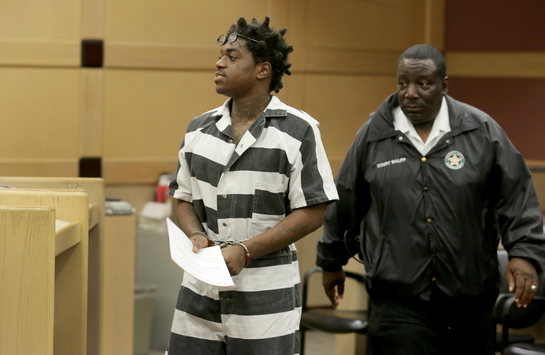 Rapper Kodak Black is ordered held without bond on two warrants