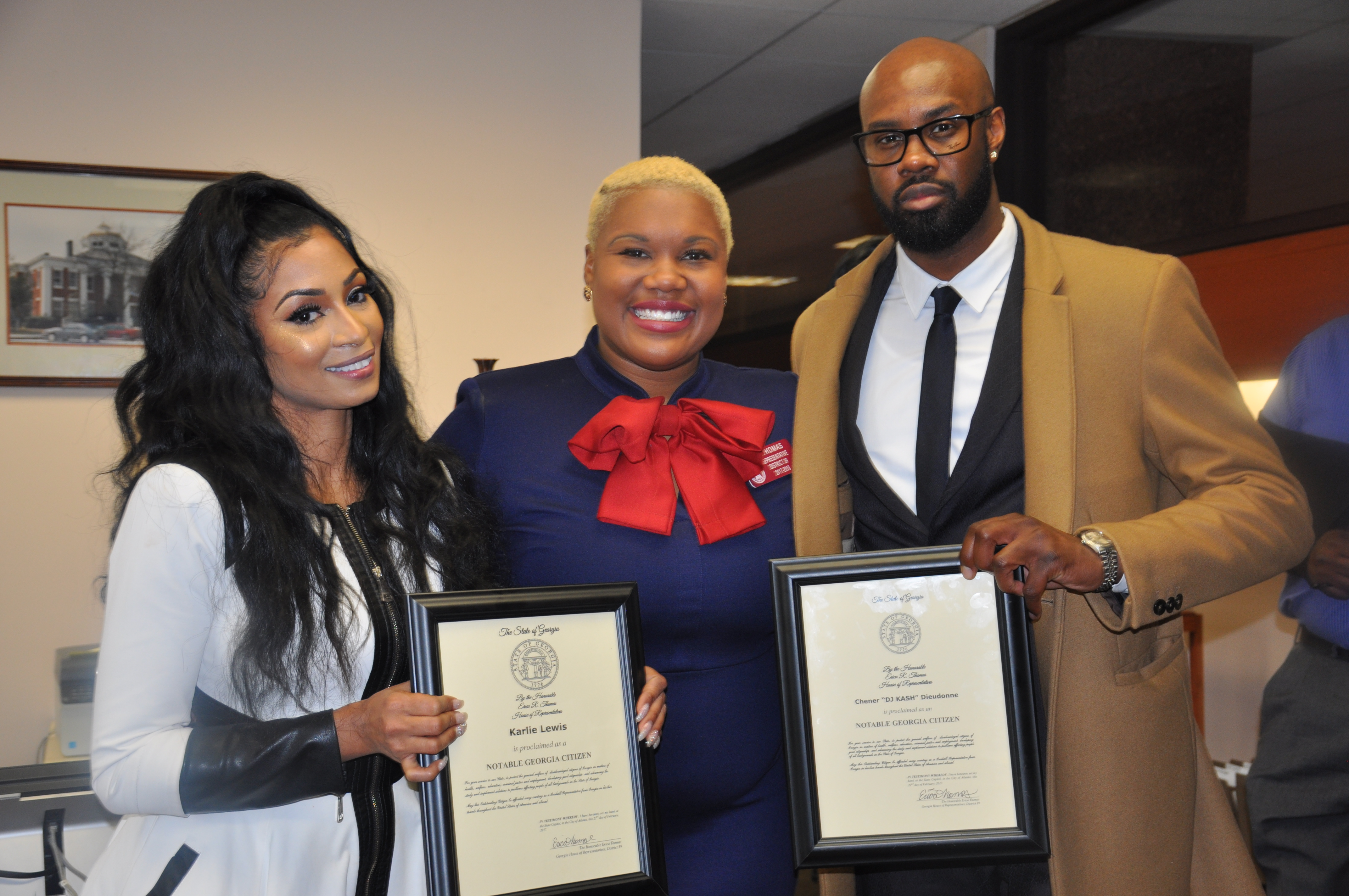 DJ Kash Acknowledged On National Haiti Day In Atlanta