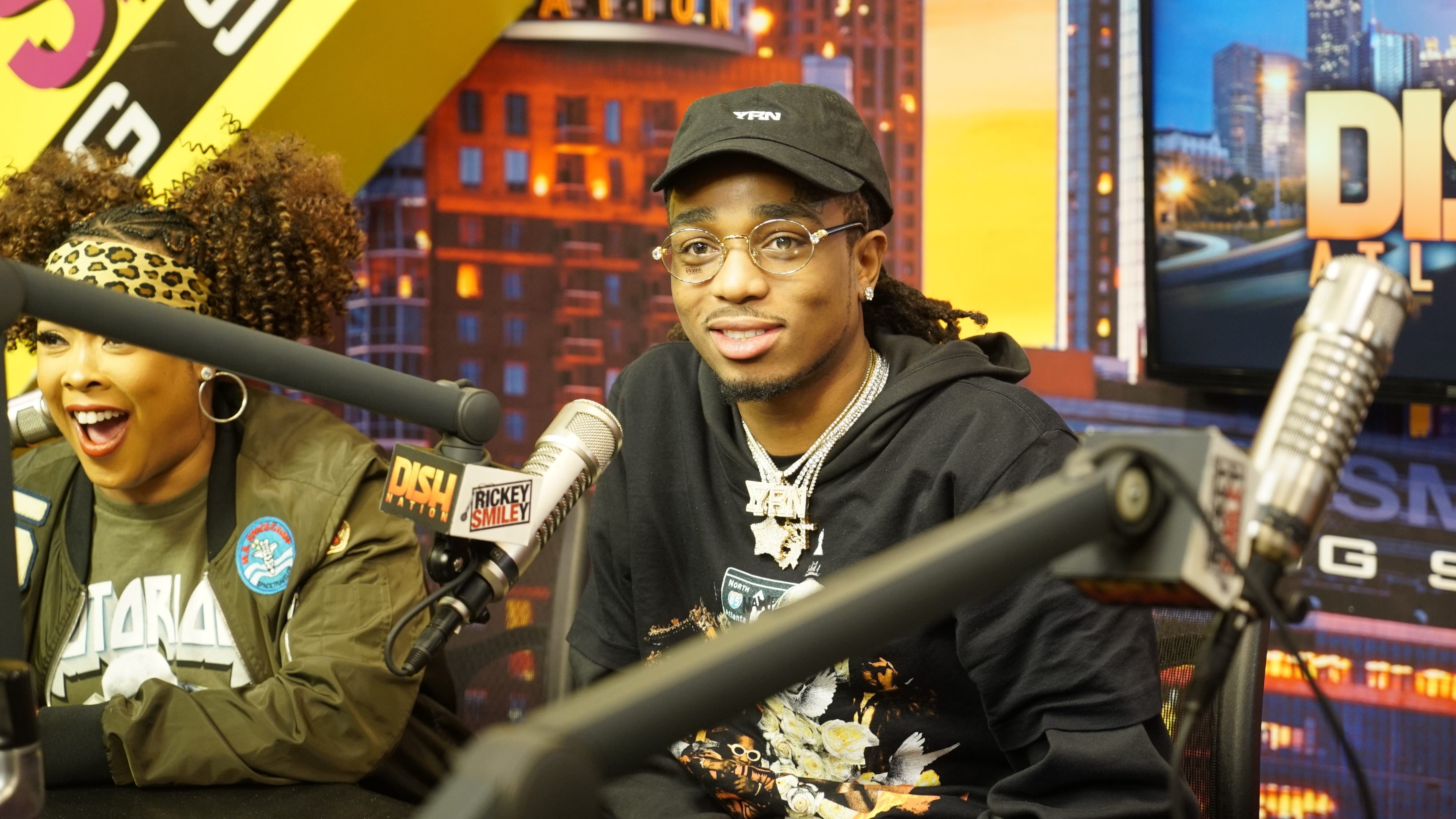 Migos On The Rickey Smiley Morning Show