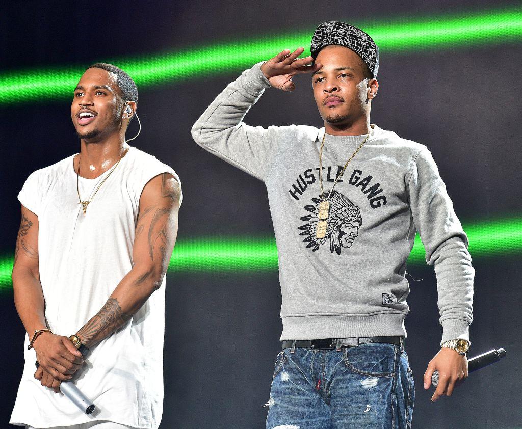 Trey Songz And Chris Brown In Concert - Atlanta, GA