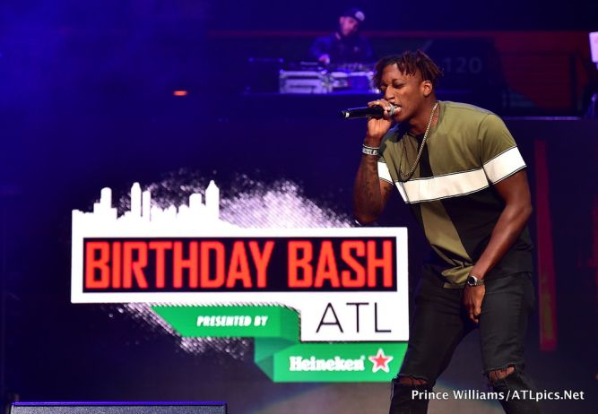 LeCrae at #BirthdayBashATL2017