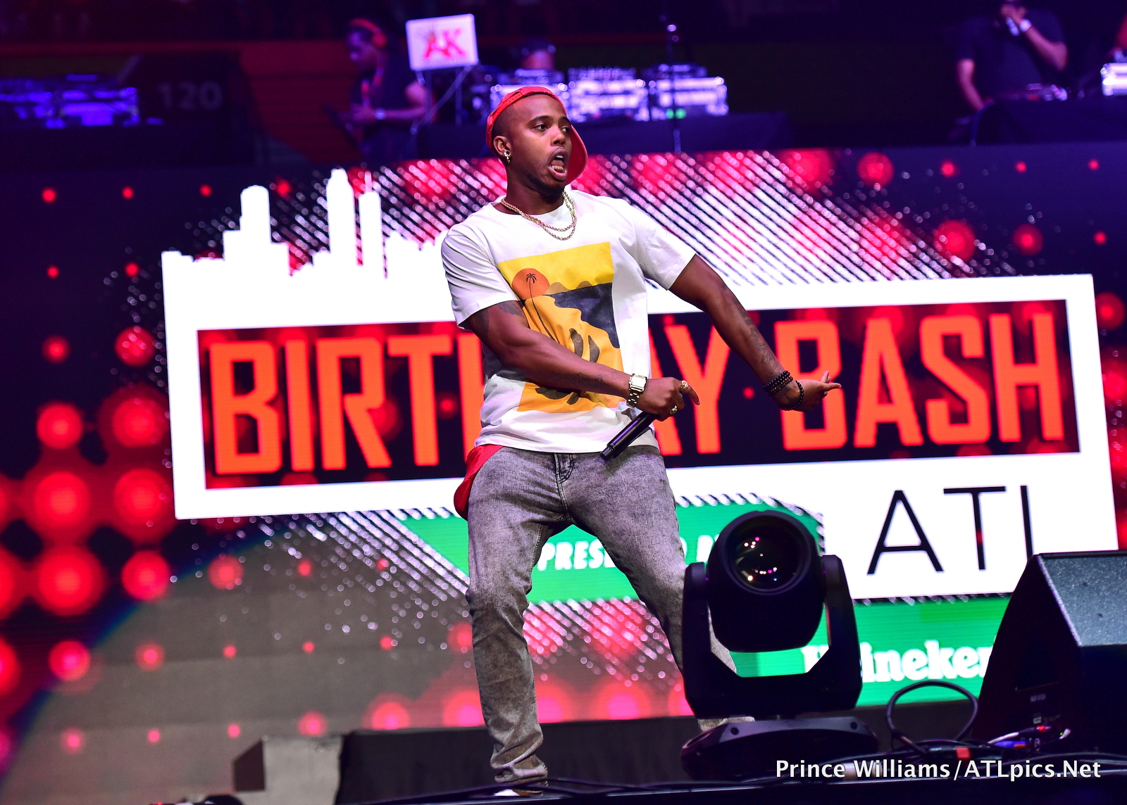 B.O.B. at #BirthdayBashATL2017