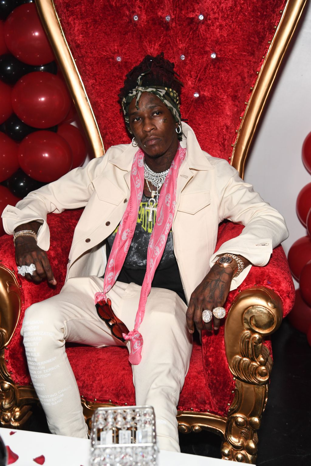 Young Thug Private Birthday Celebrtation